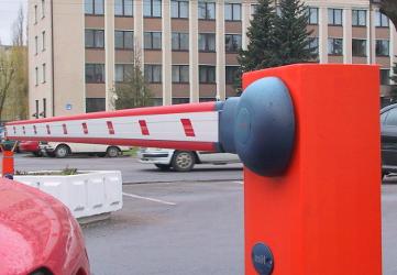 Ворота шлагбаумы автоматические для дворовых территорий